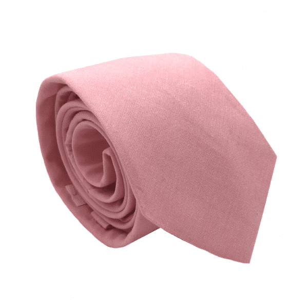 cravate rose chambray rose gentille alouette
