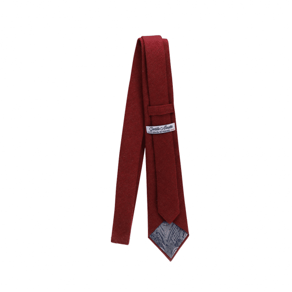 cravate bordeaux flanelle bordeaux gentille alouette