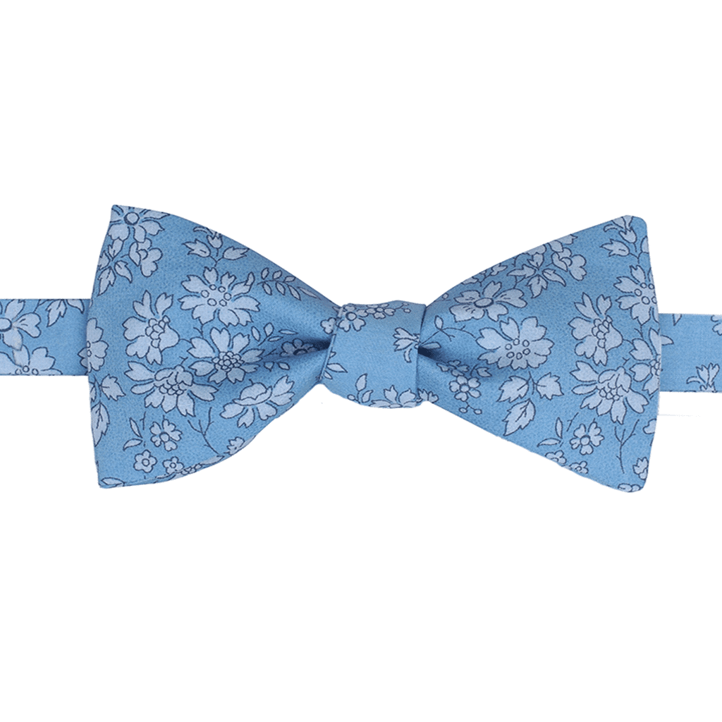 noeud papillon liberty Capel bleu made in france gentille alouette