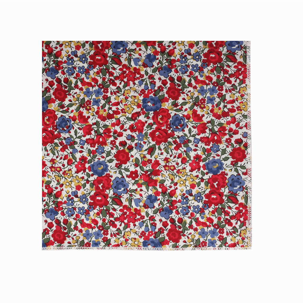 pochette de costume liberty emma and georgina multicolore gentille alouette