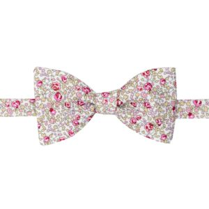 noeud papillon liberty eloise rose