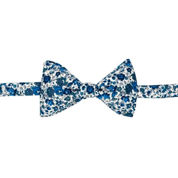 noeud papillon liberty emma and georgina bleu