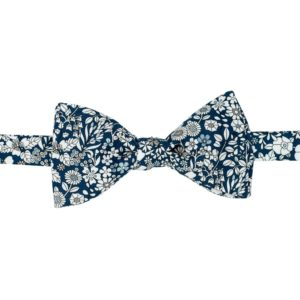 noeud papillon liberty june's bleu
