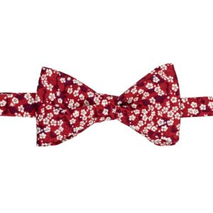 noeud papillon liberty mitsi valeria rouge