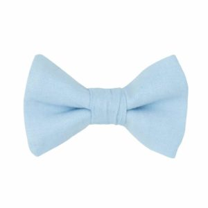barrette chambray bleu