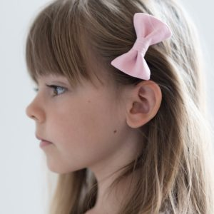barrette chambray rose