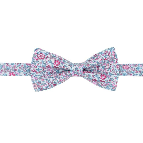 noeud papillon enfant liberty phoebe katie and millie fuchsia